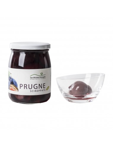 Organic Plums in Syrup