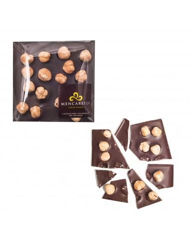Cioccolato fondente 60% e nocciole