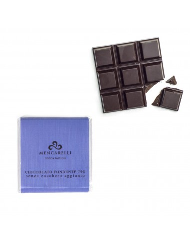 Block of sugar free Dark Chocolate