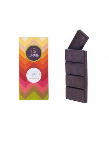 Cioccolato Fondente 70% Arancia e...