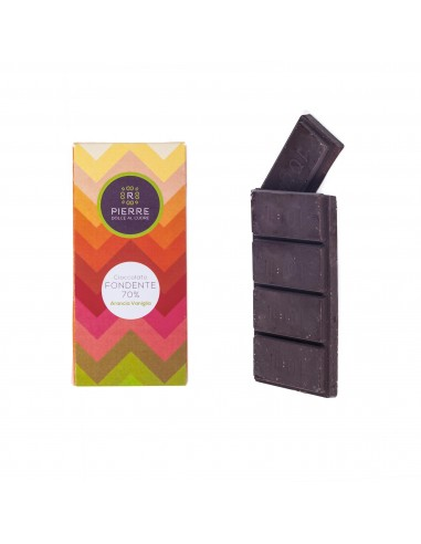 Orange and Vanilla 70%  Dark Chocolate
