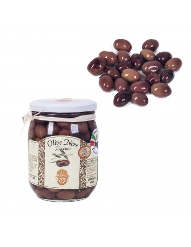 """""""Leccino"""" black Olives"""