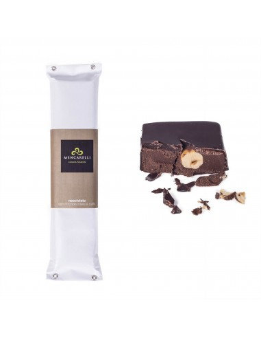 Hazelnut Chocolate Nougat with whole...