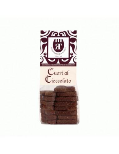 Cuori al cioccolato Cookies