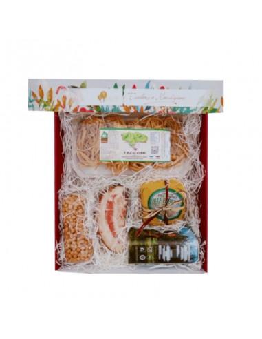 The delicious menu in gift box
