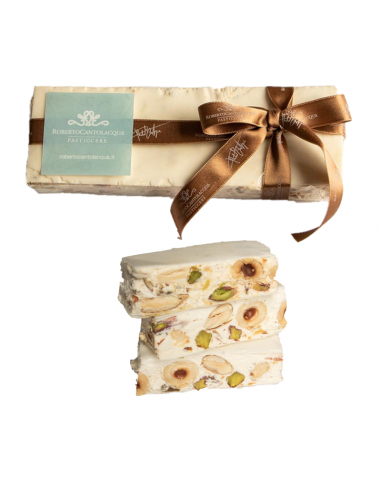 Soft nougat with dried fruit 150gr...