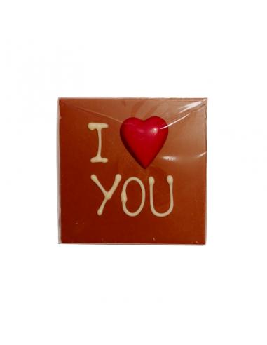 """I Love You"" Milk Chocolate Bar"