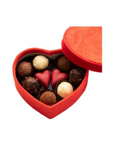 Heart Casket 19 chocolates