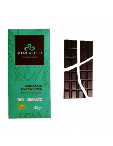 Cioccolato fondente 80% Bio
