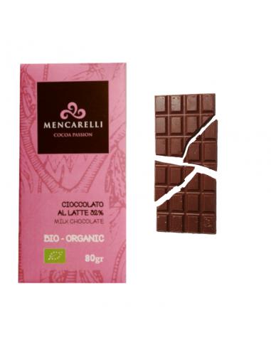 Cioccolato al Latte 32% Bio