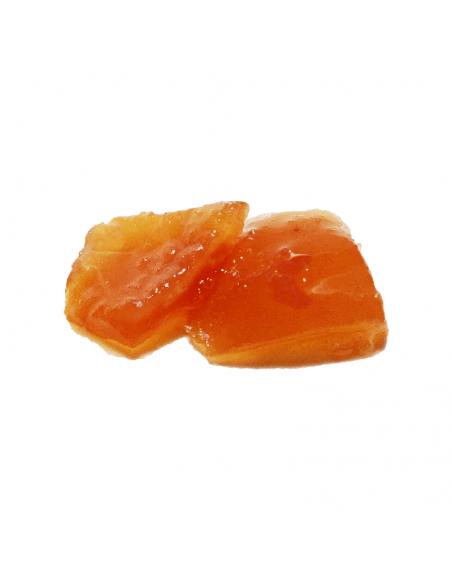 Arancia candita in pezzi