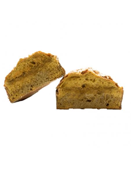Colomba al pistacchio in fette