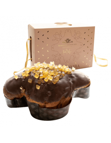 Colomba with Chocolate and Pears 750 gr