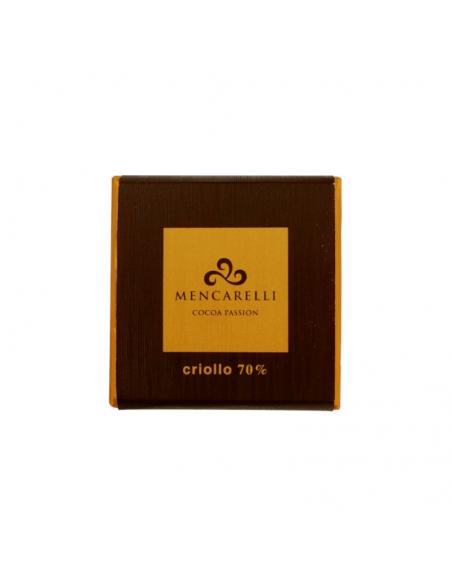 Tavoletta cioccolato fondente al 70% cacao criollo
