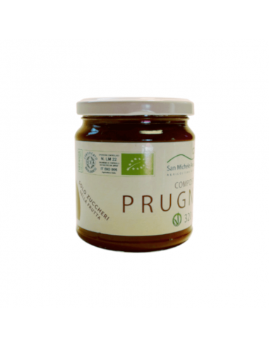 Organic Plum Compote Only Fruit Sugars
