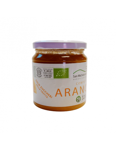 Organic Orange Only Fruit Sugar Compote