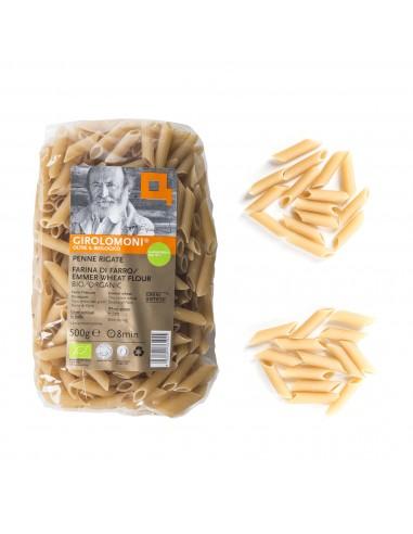 Organic Emmer Wheat Flour Penne Rigate