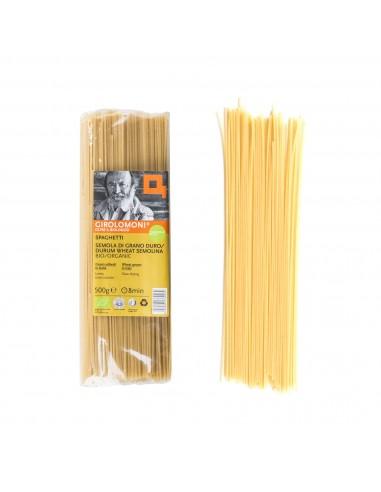Organic Durum Wheat Semolina Spaghetti