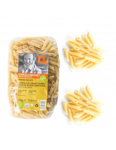 Organic Durum Wheat Semolina Penne...