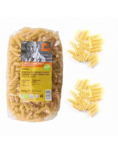 Organic Durum Wheat Semolina Fusilli