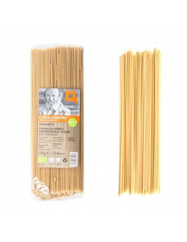 Organic Emmer Wheat Flour Spaghetti