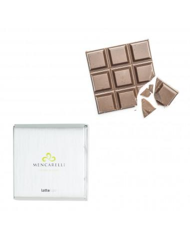 Milk chocolate bar with salt