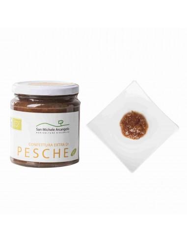Organic Peach Compote