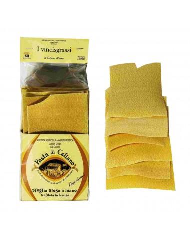 Pasta Sfoglia per Lasagne